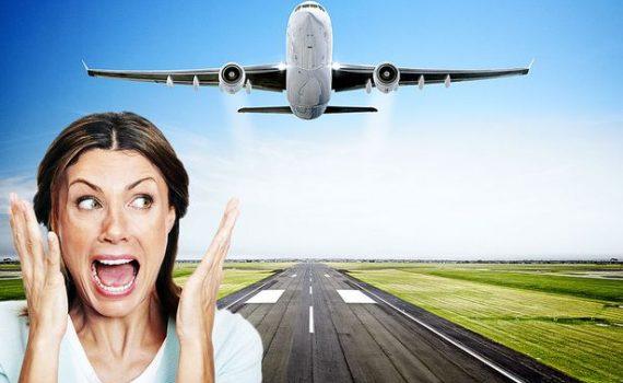 Страх от летене със самолет