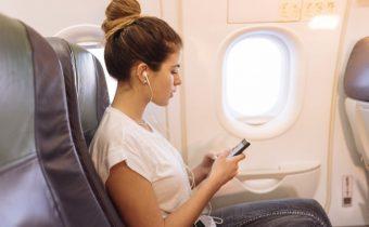 интернет в самолета