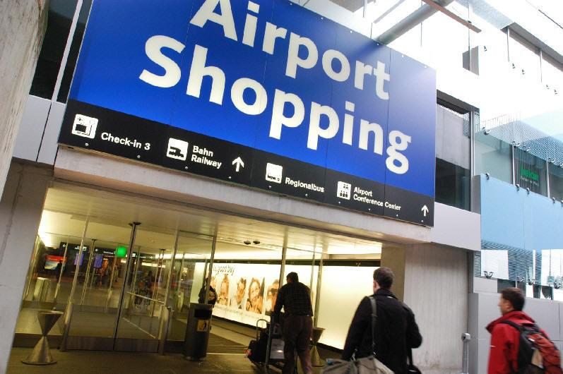 Пазаруване на летище