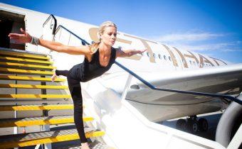 Фитнес в самолета