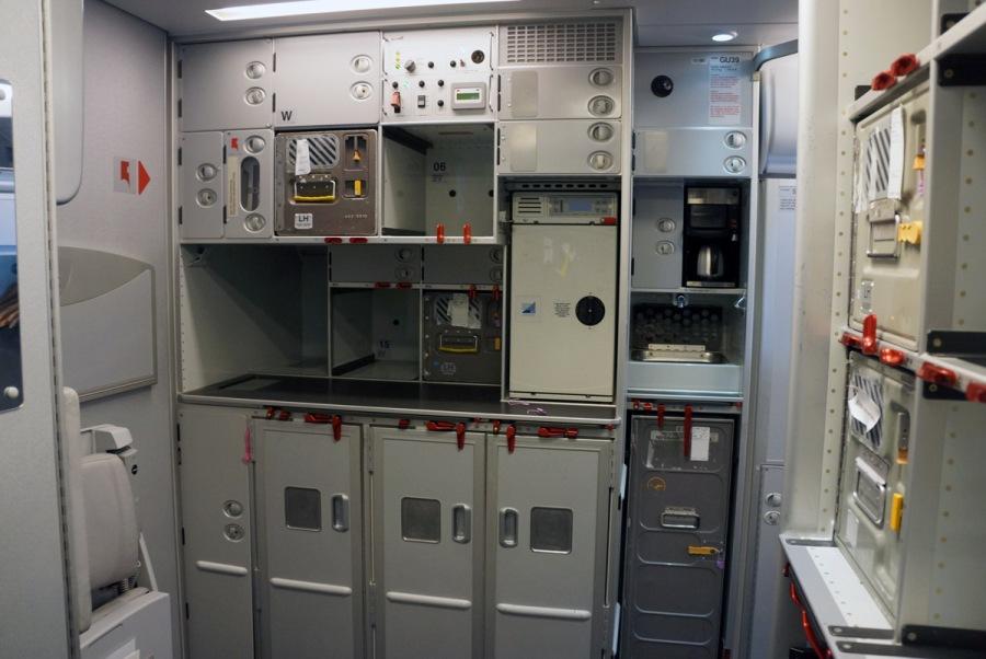 кухнята в самолета