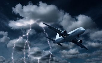 Турбуленция при пътуване със самолет